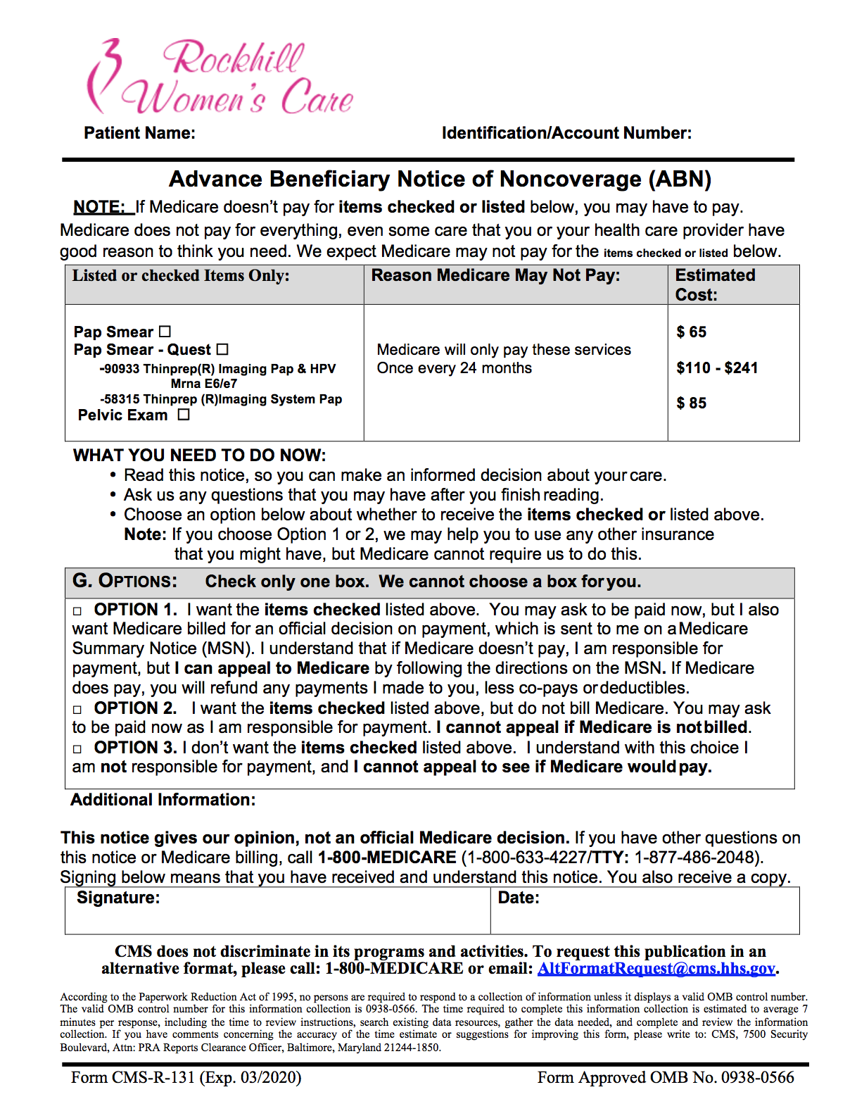 Medicare ABN